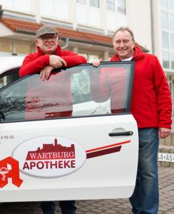 Eberhard Seeber und Ulf Römer - Boten-/ Lieferservice